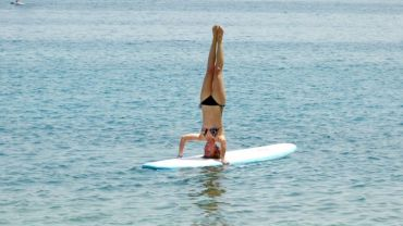 Yoga Stand Up Paddling