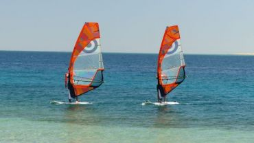 Windsurfen in Safaga